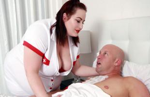 Image Logra recuperarse gracias a los cuidados de su enfermera obesa